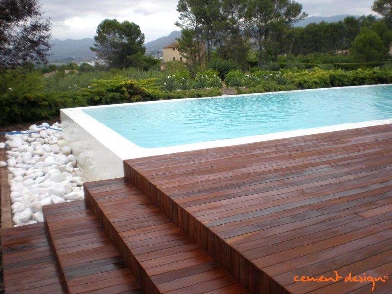 Cement design piscinas - Microcemento piscinas ...