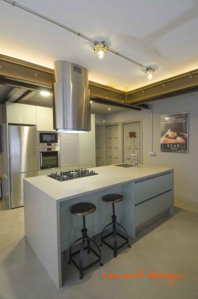 Cement design proyectos cement design - Microcemento en cocinas ...