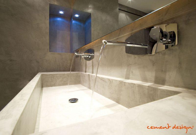 Cement design lavabo cement design concrete cemento - Lavabo microcemento ...