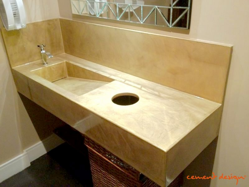 Cement Design | Lavabo Cement Design Concrete Cemento